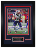 Julian Edelman Autographed & Framed 8x10 New England Patriots Photo Beckett COA D-8C