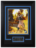 Luke Kuechly Autographed & Framed 8x10 Panthers Photo Beckett COA D-8C