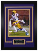 Odell Beckham Autographed & Framed 8x10 LSU Tigers Photo JSA COA D-8C1