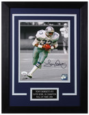 Tony Dorsett Autographed & Framed 8x10 Dallas Cowboys Photo JSA COA D-8C