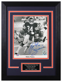 Walter Payton Autographed & Framed 8x10 Chicago Bears Photo PSA/DNA COA D-8C2