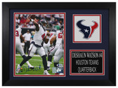 Deshaun Watson Autographed & Framed 8x10 Houston Texans Photo Beckett COA D-8A