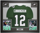 Randall Cunningham Autographed and Framed Eagles Jersey Auto Beckett COA