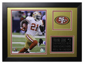 Frank Gore Framed 8x10 San Francisco 49ers Photo (FG-P1B)