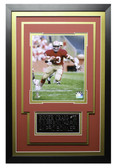 Roger Craig Framed 8x10 San Francisco 49ers Photo with Nameplate (RC-P1C)
