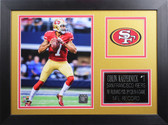 Colin Kaepernick Framed 8x10 San Francisco 49ers Photo (CK-P3B)