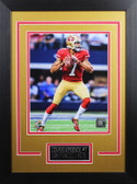 Colin Kaepernick Framed 8x10 San Francisco 49ers Photo with Nameplate (CK-P3D)