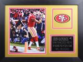 Colin Kaepernick Framed 8x10 San Francisco 49ers Photo (CK-P5B)