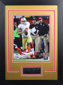 Colin Kaepernick Framed 8x10 San Francisco 49ers Photo with Nameplate (CK-P7D)