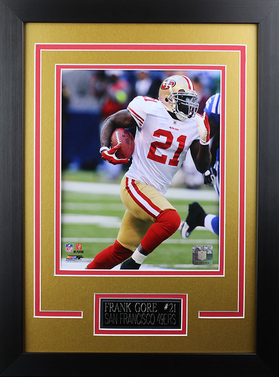 save off a81a3 7c544 Frank Gore Framed 8x10 San Francisco 49ers Photo