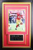 Frank Gore Framed 8x10 San Francisco 49ers Photo with Nameplate (FG-P2C)