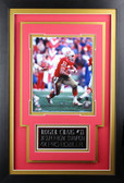 Roger Craig Framed 8x10 San Francisco 49ers Photo with Nameplate (RC-P2C)