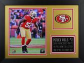Patrick Willis Framed 8x10 San Francisco 49ers Photo (PW-P3B)