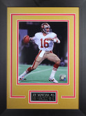 Joe Montana Framed 8x10 San Francisco 49ers Photo (JM-P2D)