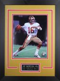 Joe Montana Framed 8x10 San Francisco 49ers Photo (JM-P2D)