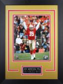 Joe Montana Framed 8x10 San Francisco 49ers Photo (JM-P6D)