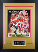 Joe Montana Framed 8x10 San Francisco 49ers Photo (JM-P7D)