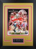 Joe Montana Framed 8x10 San Francisco 49ers Photo (JM-P7D)