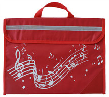 Wavy Stave Music Bag