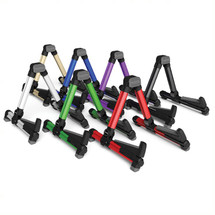 Aroma Folding Guitar Stand - Purple/SIlver/Blue/Red/Black/Green/Gold