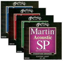 MARTIN SP Acoustic Guitar Phosphor Bronze Strings