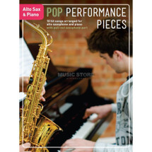 Pop Performance Pieces - Alto Sax & Piano