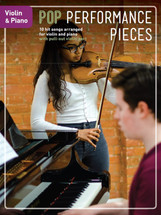 Pop Performance Pieces - Violin & Piano