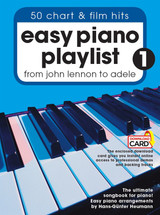 Easy Piano Playlist 1 - 50 Chart & Film Hits from Lennon to Adele