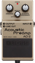 BOSS AD2 Acoustic Pre Amp