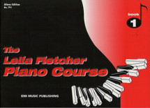 Leila Fletcher Piano Course Book 1 - Red Book