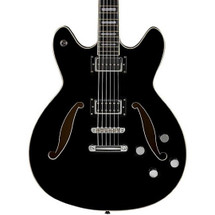 HAGSTROM Viking Deluxe Baritone Guitar  in Hard Case (BLACK)