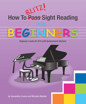 How to Blitz Sight Reading Series Books Preliminary to Book 3