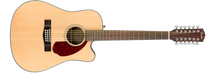 Fender CD-140SCE  12 STRING Acoustic/Electric Guitar with case