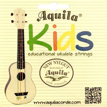 "Aquila ""Kids"" Colour coded Ukulele Strings - Soprano/Concert/Tenor"