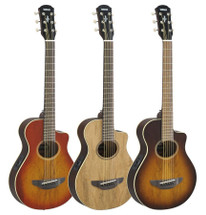 Yamaha APX2EW Exotic Wood Small Body Acoustic/ Electric Guitar