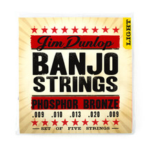 Jim Dunlop Banjo Strings - Nickel Wound