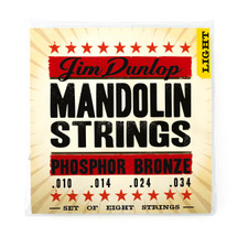 Jim Dunlop Mandolin Strings - Phosphor Bronze Wound