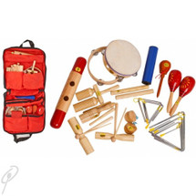 Mano 17 Piece Percussion Set with carry Bag