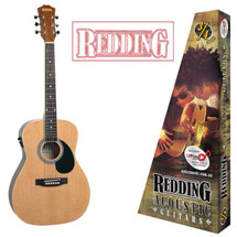 Redding 3/4 Size Acoustic/Electric Guitar - Natural/Sunburst