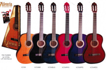 Valencia 100 Series 1/2 Size Classical Guitar - Assorted Colours