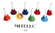 Mitello - 8 Note Tuned Bell Set - C1 to C8