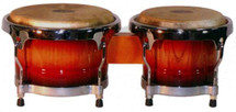 """MANO Bongo Drums - Sunburst - 7"""" & 8 1/2"""""""