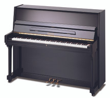 BEALE UP115M2 Acoustic Upright Piano - Ebony/Polished Black