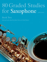 80 Graded Studies for Saxophone (Alto/Tenor) - Book 2