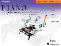 Piano Adventures Primer Level - THEORY BOOK 2nd Edition