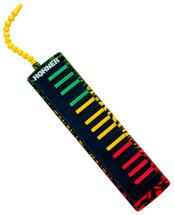 Hohner 32 Key Melodica - Rasta Design