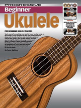 Progressive Beginner Ukulele Book/CD/DVD