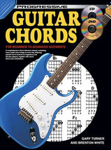 Progressive Guitar Chords Book/CD/DVD/Chord Chart