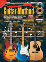 Progressive Guitar Method Book 1 CD/DVD - Beginner