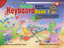 Progressive Young Beginner Keyboard Book 1 CD/DVD